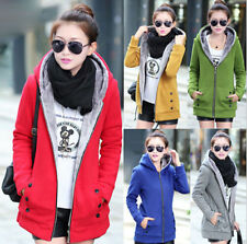 Unbranded Zip Full Length Cotton Coats & Jackets for Women