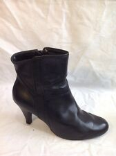 Dorothy Perkins Black Ankle Leather Boots Size 6