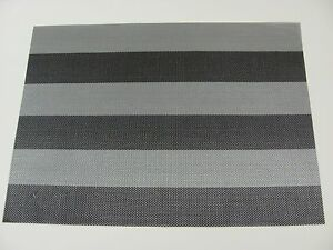 New Set of 2 ASA Placemats Outdoor PVC Various Colors Patterns - of Your Choice