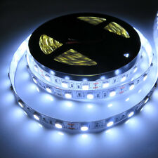 Cool White 5M 300Leds Flexible SMD 5050 Led Strip Lights Lamps Super Bright 12V