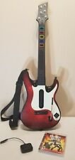 PS3 Guitar Hero: WORLD TOUR Guitar with Game and Dongle FREE SHIPPING