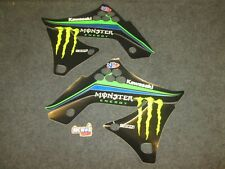 Kawasaki KXF250 2009-2012 Ryan Villopoto Team USA radiator shroud graphic GR1502