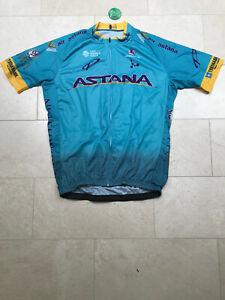 2020 Astana Short Sleeve Cycling Jersey size XXL