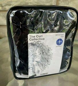 Hair Rollers FOAM Soft Sponge Curlers SATIN BLACK Sleep Conair~42 Multi-Pack NEW