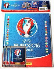 Panini EURO 2016 - Starter Hardcover Deluxe Leeralbum + 3 Stickertüten
