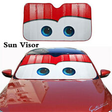 Cartoon Big Eyes Car Windshield Sun Shade Cover Visor Shield UV Block Protector