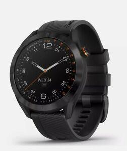 Garmin Approach S40 GPS Golf Watch Black with Black Band