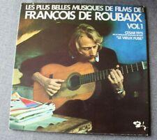 François De Roubaix, les plus belles musiques de films vol  1, LP - 33 tours