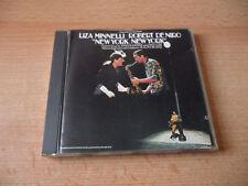 CD Motion Picture Score New York New York - Liza Minello Robert De Niro