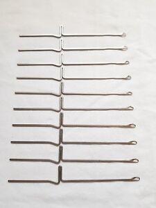 RARE BROTHER KNITTING MACHINE PARTS KH710 KH-588 KH550 ORIGINAL NEEDLES X 10