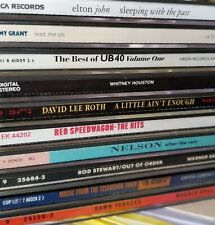 Pop and Rock Cds from collection.You Choose.Free Shipping