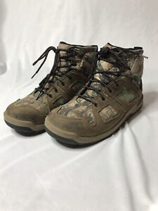 """Steadfast Hunting Boots 6"""" Danner 48061 Waterproof Realtree Xtra Green Size 11.5"""