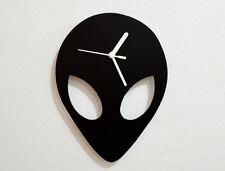 Alien Silhouette - Wall Clock