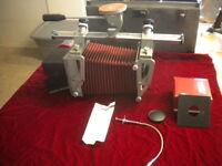 Graflex Graphic View Camera w/ Copal No 0 Lens Shutter Caltar-S II 135mm Calumet