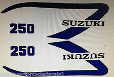 SUZUKI TS250 TS250M 1975 DECAL SET