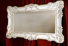 CADRE PHOTO BAROQUE ANTIQUE OR BLANC 97x57 CADRE PHOTO ART NOUVEAU rectangulaire