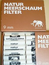 40 ST.9 mm filtro bianco Elephant NATURALE Sepiolite - NUOVO - 64005a