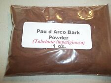 1 oz. Pau d Arco Bark Powder (Tabebuia impetiginosa)