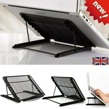 Mesh Ventilated Laptop Tablet Stand Adjustable Folding Table Cooling Holder Tray