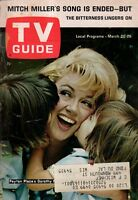 1965 TV Guide March 20 - Dorothy Malone-Peyton Place; Mitch Miller;Anne Bancroft