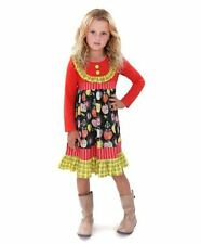 NWT In Bag Jelly The Pug Size 6 Candy Apple Duckie Long Sleeve Dress