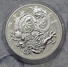 1 Dollar 2021 - Australien - Chinese Myths and Legends - Dragon -1 oz Ag
