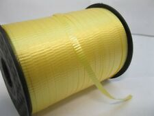 500Yards Yellow Gift Wrap Curling Ribbon Spool 5mm