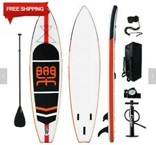 "Premium 11FT Inflatable StandUp Paddle Board 6"" Thick w/Accessories"