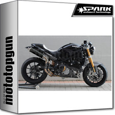 SPARK 2 ESCAPES ROUND RACING ACERO NEGRO DUCATI MONSTER S4RS 2006 06 2007 07