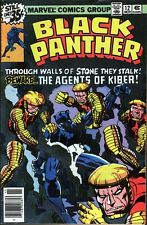 Marvel Black Panther  #12  (1977) ... Kirby - No stock images