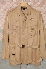 Gucci (Tom Ford) Safari (Saharienne) jacket, khaki cotton, NOS never worn, mint