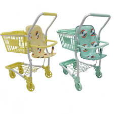 Roma Rupert Kids Dolls Shopping Trolley + Removable Basket - Suitable from 2yrs