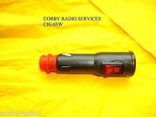 CIGAR LIGHTER PLUG 12V/24V CAR TAXIS 8 AMP FUSED POWER CONNECTOR CIG 6SW