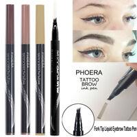 4 Head Sketch Eyebrow Pencil Waterproof Fork tip Eyebrow Tattoo Pen Eyebrow Pen