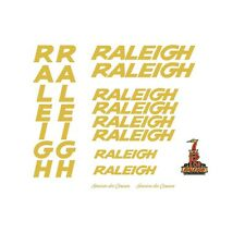 Raleigh Service des Courses Bicycle Decals-Transfers-Stickers #43