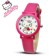 New arrived cartoon quartz watch hello kitty fashion wristwatch for kid children