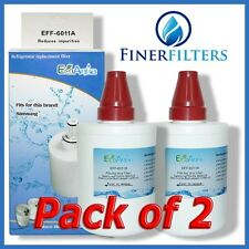 2 x EcoAqua DA29-00003G/F Compatible Fridge Water Filter Samsung Aqua Pure Plus