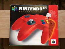 Original Nintendo 64 N64 Original Controller Box only (Red)