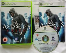 XBOX 360 GERMAN PAL VERSIONS OF ASSASSIN'S CREED 1 2 3 I II III W/ BONUS LINEAGE