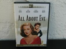 All About Eve (Dvd) 20th Century Fox ~ Bette Davis Anne Baxter Marilyn Monroe