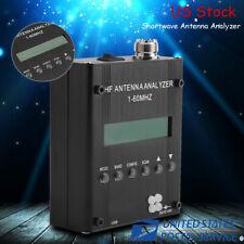 Digital Shortwave Antenna Analyzer Meter Tester 1-60M For Ham Radio MR300 US