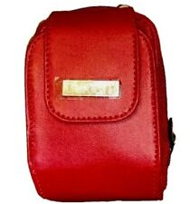Buxton Wallet Wristlet Crossbody Phone  Organizer Bag Purse Red Shoulder Belt Kg