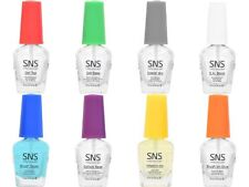 SNS Nail Gel Base, Gel Top,.Gelous Base, Sealer Dry, E.A. Bond, Brush Saver .5oz