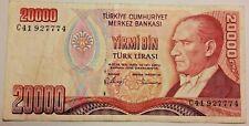 TURQUIE 20000 Lire 1970 Türk Lirasi YIRMI BIN