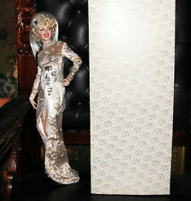 "FRANKLIN MINT MARILYN MONROE ULTIMATE MARILYN Doll 24"" PORCELAIN 1996 Origin Box"