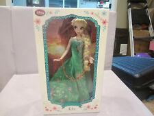 "Disney Elsa 17"" Frozen Fever Limited Edition Designer Doll – NIB COA 1886"