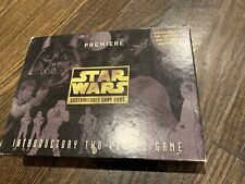 Decipher Star Wars CCG Premier Introductory Two-Player Game Missing 1 Card
