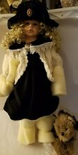 "The Doll Maker and Friends By Linda Rick & Beverly Stoehr 28"" Limited 1 of 1"