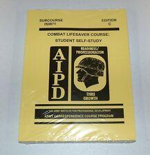 Combat Lifesaver Course, Student Self-Study, Edition C - Paperback - Medicine