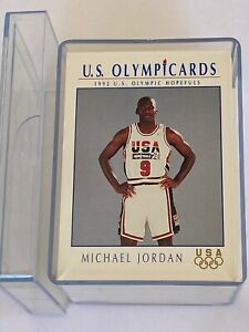 IMPEL 1992 US OLYMPIC HOPEFULS INC.  BASKETBALL DREAM TEAM COMPLETE SET 1-110